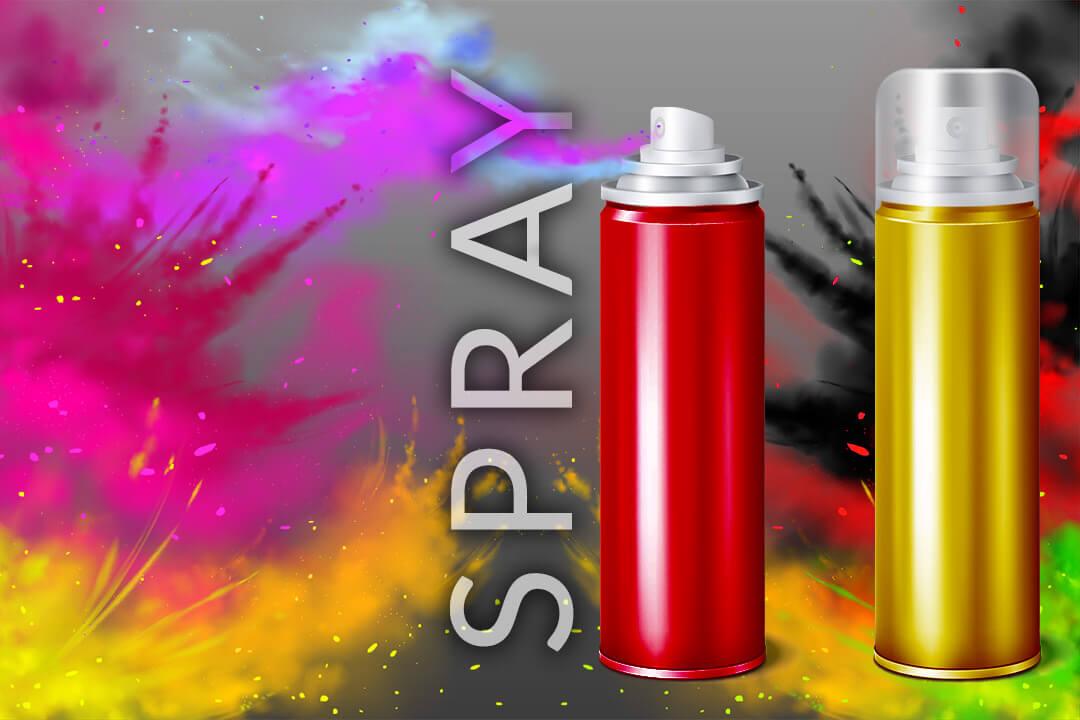 Niewątpliwą zaletą lakierów w sprayu jest łatwość i szybkość aplikacji zapewniając kolor bez smug.