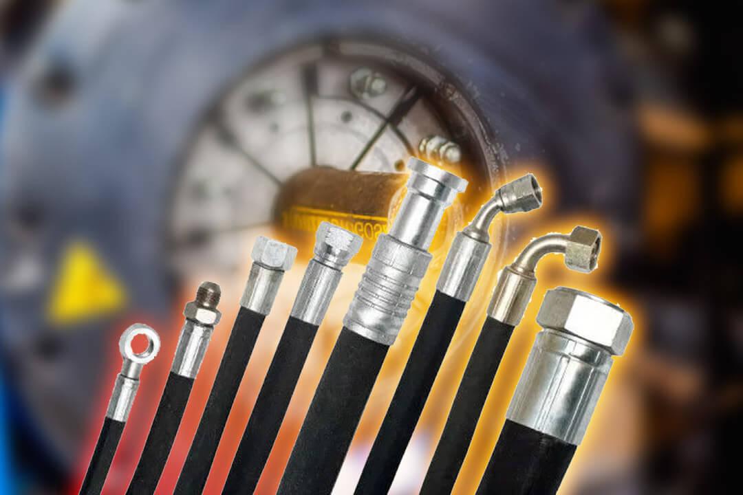 Zakuwanie przewodów hydraulicznych polega na trwałym połączeniu węża z gwintowaną (lub nie) końcówką, dzięki której możemy połączyć zakuty przewód ze źródłem ciśnienia.